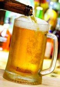 cerveja na caneca