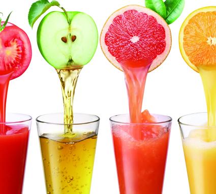 Suco direto da fruta